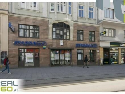 Geschäftsfläche auf der Linzer Landstraße zu vermieten - vormals Bank!