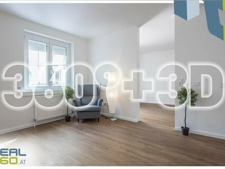 3 Zimmer-INNENstadtwohnung mit großer INNENhofterrasse, generalsaniert!