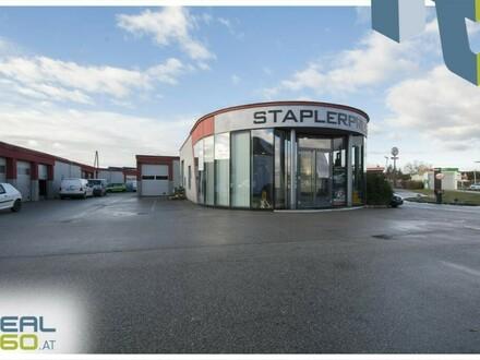 Gewerbeobjekt bestehend aus Lager, Werkstatt und Büro in Linz-Süd mit ca. 202,96m² zu vermieten!