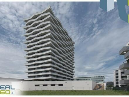 NEUBAU - sonnige 3-Zimmer Wohnung mit riesigem Balkon - LENAUTERRASSEN!