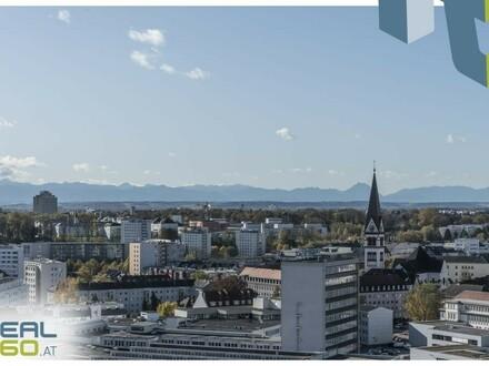 NEUBAU - sonnige 3-Zimmer-Wohnung mit riesigem Balkon zu vermieten - LENAUTERRASSEN!