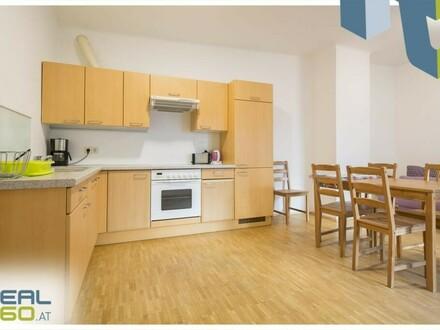Voll MÖBLIERTE 2-Zimmer Wohnung mit hofseitigem Balkon ab sofort zu vermieten!