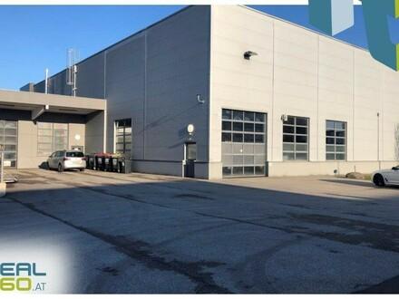 Tolle Lagerhalle mit asphaltierter Freifläche und Technikräumen zu vermieten!
