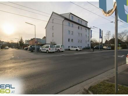 Bürohaus (WIDMUNG WOHNGEBIET) inkl. reichlich Freiparkplätze in der Siemensstr. in Linz zu verkaufen!