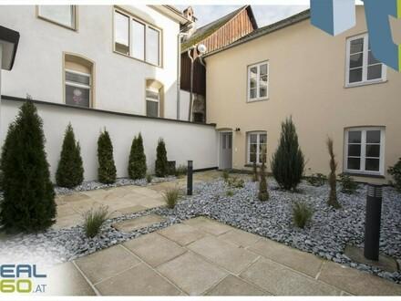 Außergewöhnliches Wohnen am Stadtplatz mit traumhaftem, privatem Dachgarten!