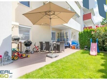 Ruhige Gartenwohnung - perfekt für Familien oder Pärchen in netter Siedlung unweit von Linz!
