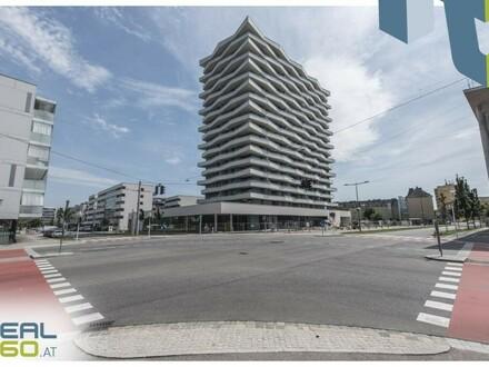 NEUBAU - LENAUTERRASSEN - GRATIS UMZUGSMONAT! Sonnige 3-Zimmer-Wohnung mit riesigem Balkon zu vermieten!!