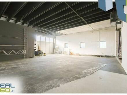 Zentral gelegene Lagerhalle/Schauraum samt Büro mit toller Infrastruktur in Linz-Pasching zu vermieten!