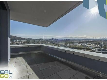 NEUBAU - LENAUTERRASSEN! Sonnige 3-Zimmer-Wohnung mit riesigem Balkon zu vermieten! (GRATIS UMZUGSMONAT)