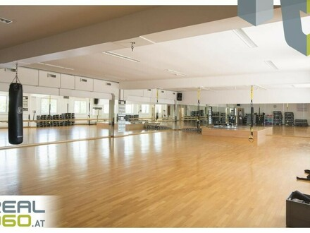 Großflächiges Fitnessstudio auf 2 Geschoße mit ca. 1.750m²!! Wels!!