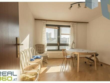 Südlich ausgerichtete 2 Zimmerwohnung mit TG-Platz im Zentrum von Linz-Urfahr!