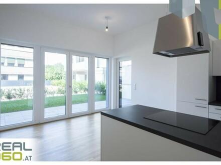 Provisionsfreie Neubauwohnung mit Küche und Terrasse/Eigengarten in Urfahr!!