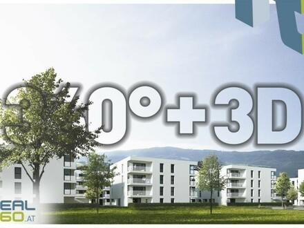 SOLARIS am Tabor! Geförderte Neubau-Eigentumswohnungen im Stadtkern von Steyr zu verkaufen!! Top 7 - PROVISIONSFREI