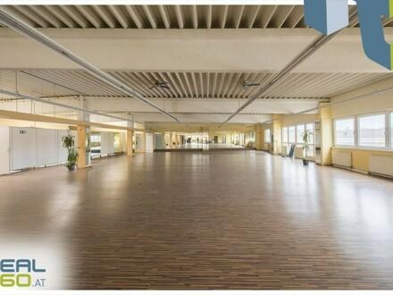 Perfekt gelegenes Büro (ehem. Fitnessstudio) an der Linzer Donaulände zur Anmietung!