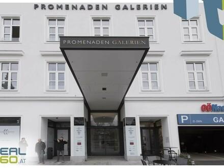 DIE Geschäftsfläche in den neuen Promenaden-Galerien zu mieten - im Herzen von Linz!!
