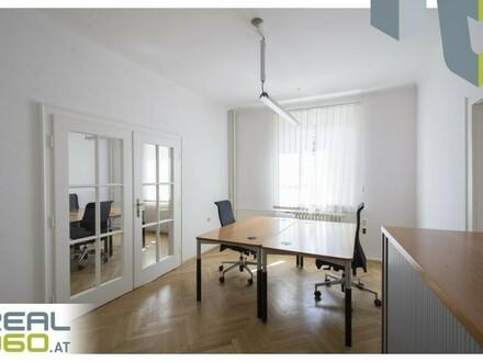 TOP aufgeteilte Altbau-Büroräumlichkeiten im Zentrum von Linz!