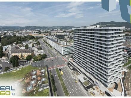 LENAUTERRASSEN - sonnige 3-Zimmer-Wohnung mit riesigem Balkon!