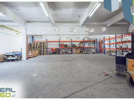 Gewerbeobjekt mit Lagerhalle und Büro in Leonding zu vermieten!!