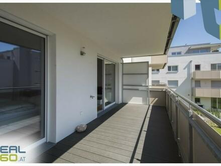 Tolle Neubau 2-Zimmer Wohnung mit riesigem sonnigen 14m² Balkon in Neuhofen/Dambach!!