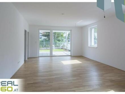 3 Zimmer Wohnung mit Eigengarten in NEUBAU-Wohnanlage in Linz zu vermieten! ERSTBEZUG!