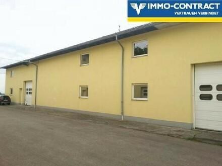 Gewerbeobjekt mit Büros, Werkstätten und Lagerhallen zu MIETEN, Größe variabel