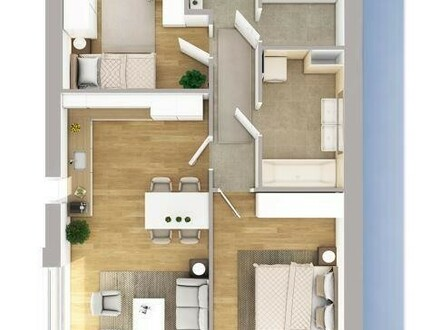 Neubau - provisionsfreie Dachterrassenwohnung