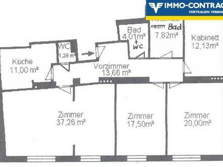 Anlegerhit! große WG-geeignete Wohnung oder zwei Wohnungen nebeneinander