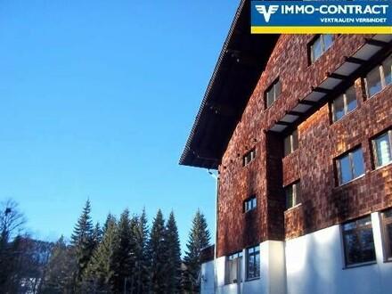 Apartments oder Hotel in romantischer Bergwelt