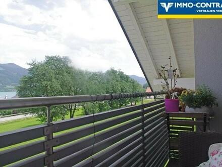 3-Zimmer-Wohnung mit fantastischem Seeblick, Balkon und XL-Terrasse