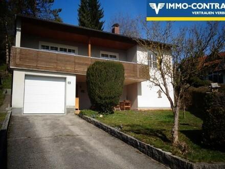 Einfamilienhaus in ruhiger Siedlungslage und fantastischem Bergblick zu kaufen!