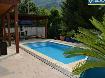 Sommeraktion - Schmuckes Einfamilienhaus mit Pool