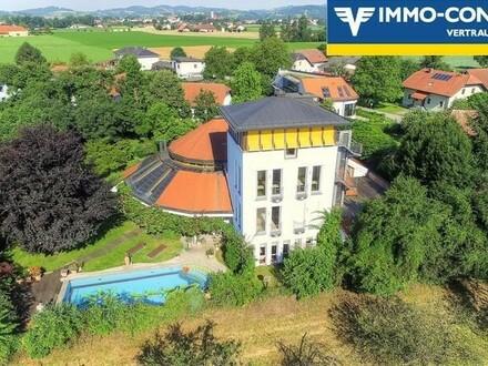 Außergewöhnliche Luxus-Villa mit über 900m² Wohnfläche - nähe Linz