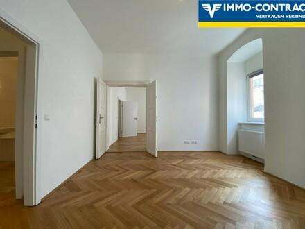 **erfolgreich vermittelt** Modern & charmant! Zentral gelegene 3-Zimmer-Altbauwohnung mit Balkon