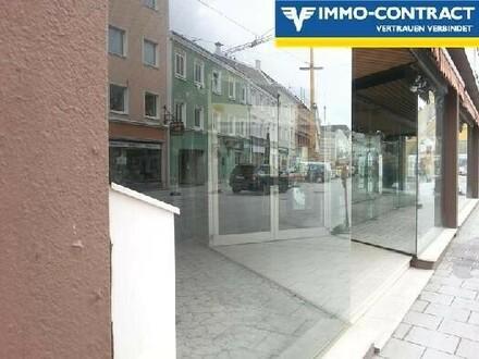 1A-Lage: Geschäft über 3 Etagen inkl. Wohnung