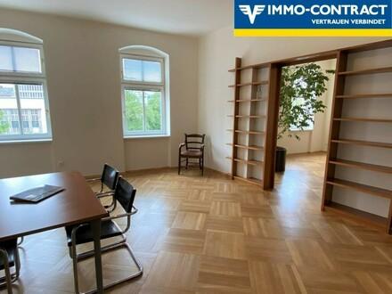 Büro oder Wohnung   Großzügige Räumlichkeiten im Jugendstilhaus direkt an der Landstraße, Nähe Schillerpark
