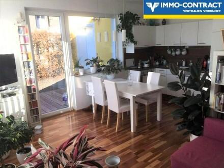 Nette Wohnung mit kleiner Terrasse in Ruhelage zu vermieten