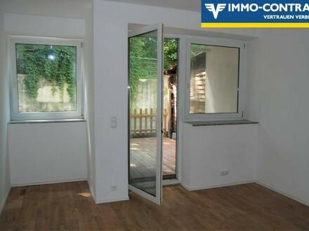 4-Zimmer-Wohnung mit Terrasse und kleinem Garten - optimale Verkehrsanbindung/Infrastruktur