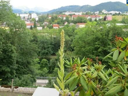 Terrasse mit viel Grün