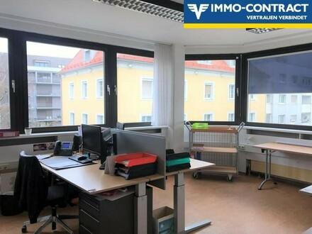 Optimale Raumaufteilung und helle Räumlichkeiten für Ordination, Büro oder Praxis in Linzer Innenstadtlage