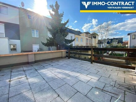 Helle, freundliche 3-Zimmer-Wohnung mit großer Terrasse in ruhiger Siedlungslage