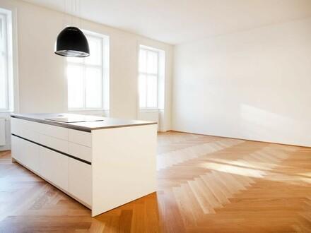 Erstbezug nach Sanierung! Moderne 3-Zimmer Wohnung in wunderschönem Althaus!