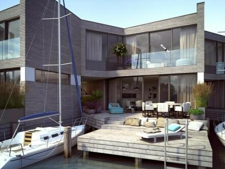 EXTRAVAGANT & PROVISIONSFREI: Traumhafte Seehäuser mit Privat-Steg