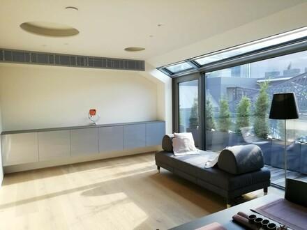 Luxuriöse DG Wohnung mit kleiner Terrasse