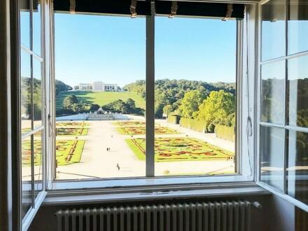Residenz im Schloss Schönbrunn mit Gloriette-Blick!