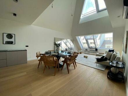 Elegantes Penthouse-Apartment mit Dachterrasse in Wiener Bestlage