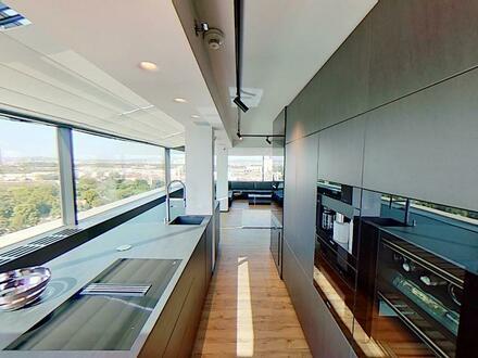 Höchste Penthouse-Wohnung in Wien