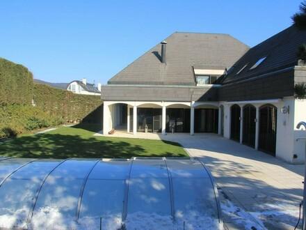 PREISREDUKTION !!! Cottage-Villa mit Indoor- und Outdoor-Pools in Perchtoldsdorf