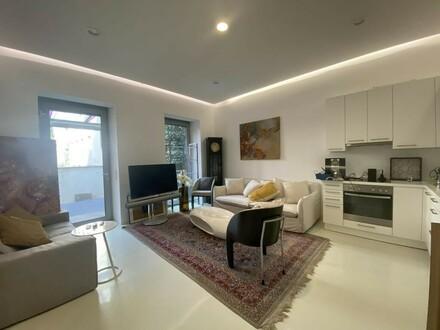Maisonette-Wohnung mit SPA und Anleger- bzw. Büroeinheit