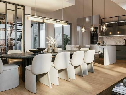 Stilvolles Penthouse-Apartment mit erstklassiger Dachterrasse