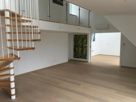 ZU VERMIETEN: Extravagante Galerie-Dachgeschoßwohung im 8. Bezirk Wiens
